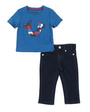 Sets - 2 Piece Camo Tee & Denim Jeans Set (Infant)-2355288