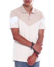 Jordan Craig - SAND COLORBLOCK POLO-2358190
