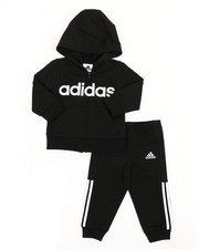 Adidas - Athletics Hoodie & Pants Set (0-24MO)-2337460