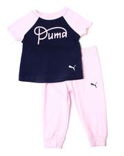 Puma - S/S Tee & Capri Joggers Set (2T-4T)-2357087