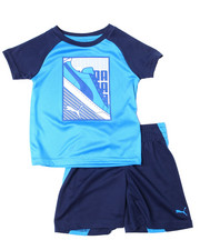 Sets - Poly Performance S/S Tee + Short Set (2T-4T)-2357050