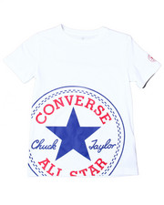 Converse - Oversized Patched S/S Tee (8-20)-2357208
