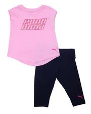 Girls - S/S Tee & Capri Leggings Set (2T-4T)-2357075