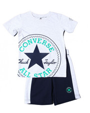 Boys - Oversized Chuck Patch Short Sets (4-7)-2357198