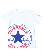 Converse - Oversized Patched S/S Tee (4-7)-2357203