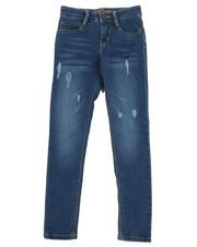 Jeans - Jeans W/Abrasions (7-16)-2356323