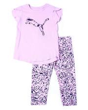 Girls - S/S Tee + Capri Legging Set (7-16)-2356891