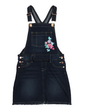 Overalls & Jumpers - Embroidered Skirtall (7-16)-2356330