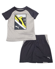 Sets - Poly Performance S/S Tee + Short Set (2T-4T)-2357010