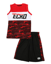 Boys - 2Pc Muscle Top & Shorts Set (8-20)-2349180