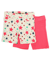 Bottoms - 2 PK Star Print Shorts (2T-4T)-2357151