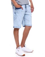 Buyers Picks - LAMAR STRETCH DENIM SHORT - WARRIOR BLUE WASH-2359068