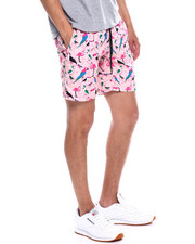 Swimwear - 6 inch Flamingo Swim Trunk-2358911