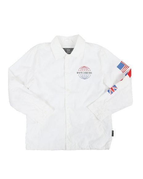 Brooklyn Cloth - Worldwide Coach Jacket (8-20)