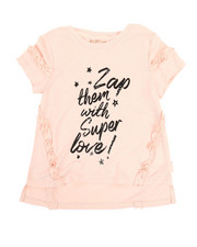 Tops - Love Ruffle Tee (4-6X)-2358326
