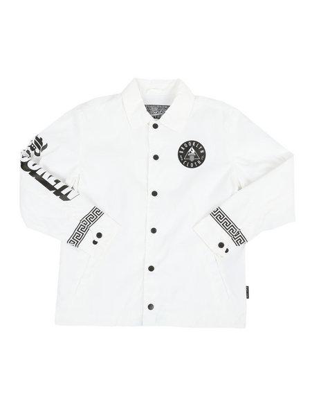 Brooklyn Cloth - Placement Print Coach Jacket (8-20)