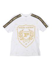 Phat Farm - Foil Printed Crew Neck W/ Shoulder Tape (8-18)-2357690