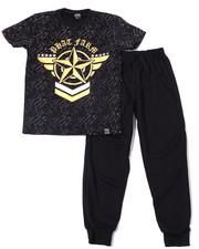 Boys - S/S Crew Neck Jersey & Knit Jogger Pant (8-18)-2359895