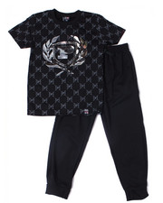 Sets - S/S Crew Neck Jersey & Knit Jogger Pant (8-18)-2359858