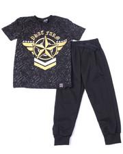 Phat Farm - S/S Crew Neck Jersey & Knit Jogger Pant (4-7)-2359883