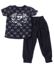 Phat Farm - S/S Crew Neck Jersey & Knit Jogger Pant (2T-4T)-2359845