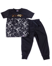 Phat Farm - S/S Crew Neck Jersey & Knit Jogger Pant (2T-4T)-2359965