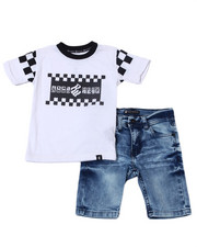 Rocawear - 2Pc Denim Short Set (2T-4T)-2359544