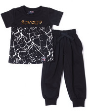 Phat Farm - S/S Crew Neck Jersey & Knit Jogger Pant (Infant)-2359961