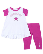 Converse - Star Chevron Tunic Capri Set (4-6X)-2359712