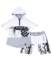 Rocawear - 2Pc French Terry Hoodie/Short Set (2T-4T)-2359480