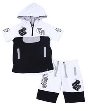 Rocawear - 2Pc French Terry Hoodie/Short Set (2T-4T)-2359521