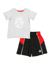 BODY GLOVE - 2 Pc Tee & Shorts Set (2T-4T)-2357352