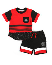 Enyce - 2pc Tee & Shorts Set (Infant)-2355813