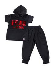 Phat Farm - S/S Neoprene Hoodie & Jogger Pants (Infant)-2359758