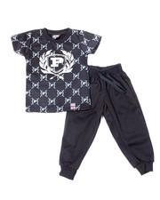 Phat Farm - S/S Crew Neck Jersey & Knit Jogger Pant (Infant)-2359828