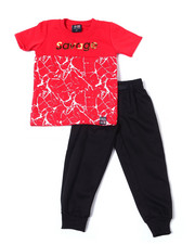 Phat Farm - S/S Crew Neck Jersey & Knit Jogger Pant (2T-4T)-2359952