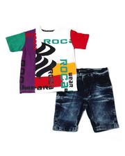 Rocawear - 2Pc Denim Short Set (2T-4T)-2359540