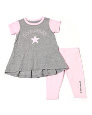 Converse - Star Chevron Tunic Capri Set (4-6X)-2359729