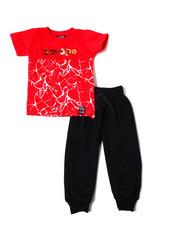Phat Farm - S/S Crew Neck Jersey & Knit Jogger Pant (Infant)-2359948