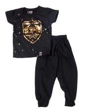 Phat Farm - S/S Crew Neck Jersey & Knit Jogger Pant (Infant)-2359899