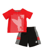 BODY GLOVE - 2 Pc Tee & Shorts Set (2T-4T)-2357366