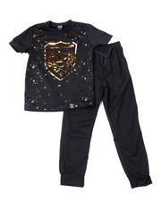 Boys - S/S Crew Neck Jersey & Knit Jogger Pant (8-18)-2359917