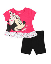 Disney/Sesame Street - Minnie Top & Shorts Set (0-24mo)-2357291