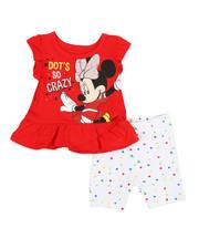 Disney/Sesame Street - 2 Pc Dot's So Crazy Top & Shorts Set (0-24mo)-2357277