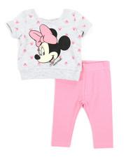 Sets - 2 Pc Minnie Top & Leggings Set (Infant)-2357298