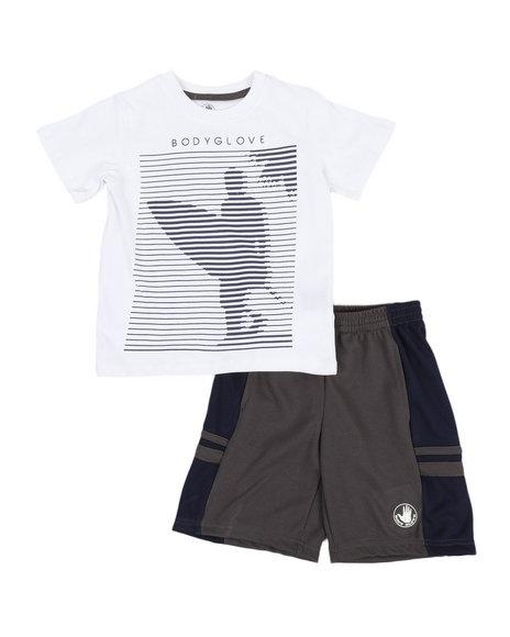 BODY GLOVE - 2 Pc Tee & Shorts Set (4-7)