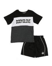 BODY GLOVE - 2 Pc Tee & Shorts Set (2T-4T)-2357380