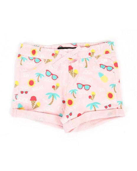 Vigoss Jeans - 2 PK Sunny Days Shorts (2T-4T)