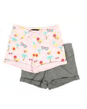 Bottoms - 2 PK Sunny Days Shorts (4-6X)-2357979