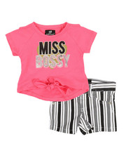 Dollhouse - 2 Pc Tee & Shorts Set (Infant)-2357444